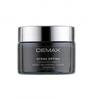 Восстанавливающий ночной крем / Hydra optima night cream sensitive / Demax