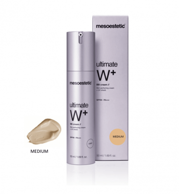 Ultimate W+ ББ крем  / Ultimate W+ BB cream SPF50 (light, medium) / Mesoestetic купить