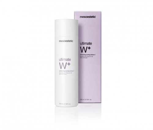 Ultimate W + освітлюючий тонізуючий лосьон / Ultimate W + whitening toning lotion / Mesoestetic купить