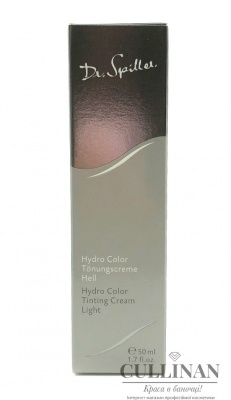 Тональный крем Hydro Colour / HYDRO COLOUR TINTING CREAM / Dr. Spiller